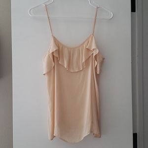 COPY - Forever21 Blush Small Flowy Tank